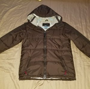 (SOLD) Calvin klein puffy jacket size large